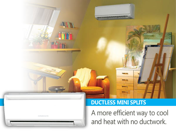 Ductless Mini Split - Spokane and Coeur d'Alene