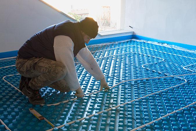 Radiant Floor Heating in Spokane and Coeur d'Alene