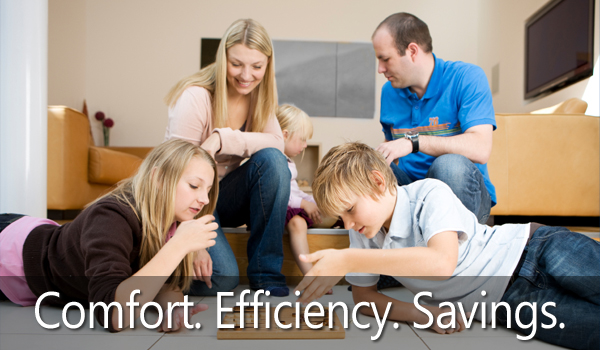 Comfort and Savings - R&R Heating and Air Conditioning