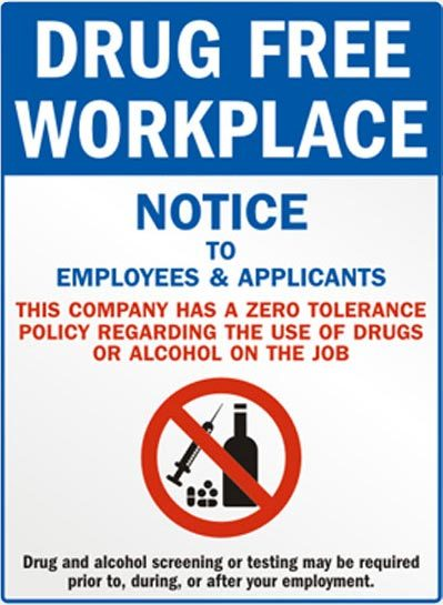 Drug Free Workplace - R&R Heating and Air Conditioning