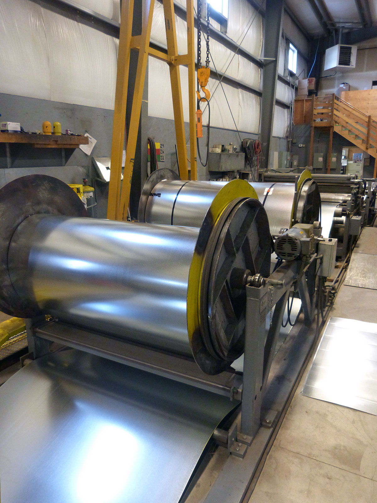 Sheet Metal Fabrication Shop Coil Line - R&R Heating and Air Conditioning