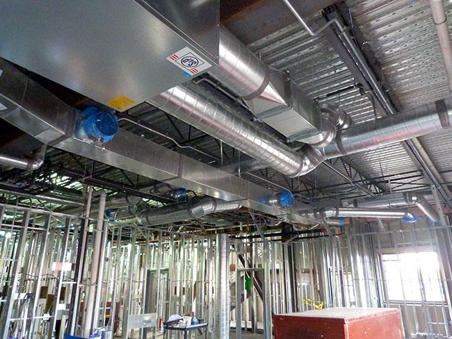 Commercial Design Duct Work in Spokane, WA