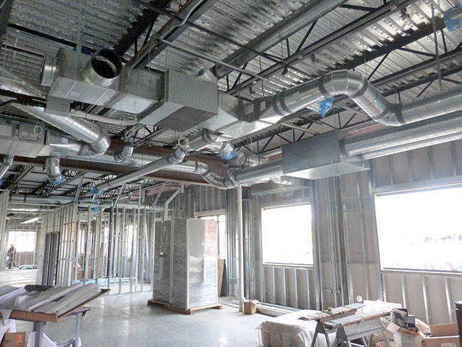 Commercial Duct Work - R&R Heating and Air Conditioning