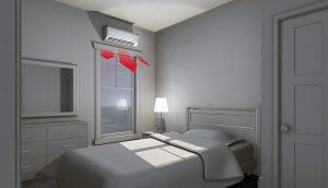 Ductless Mini Split - Individual Rooms