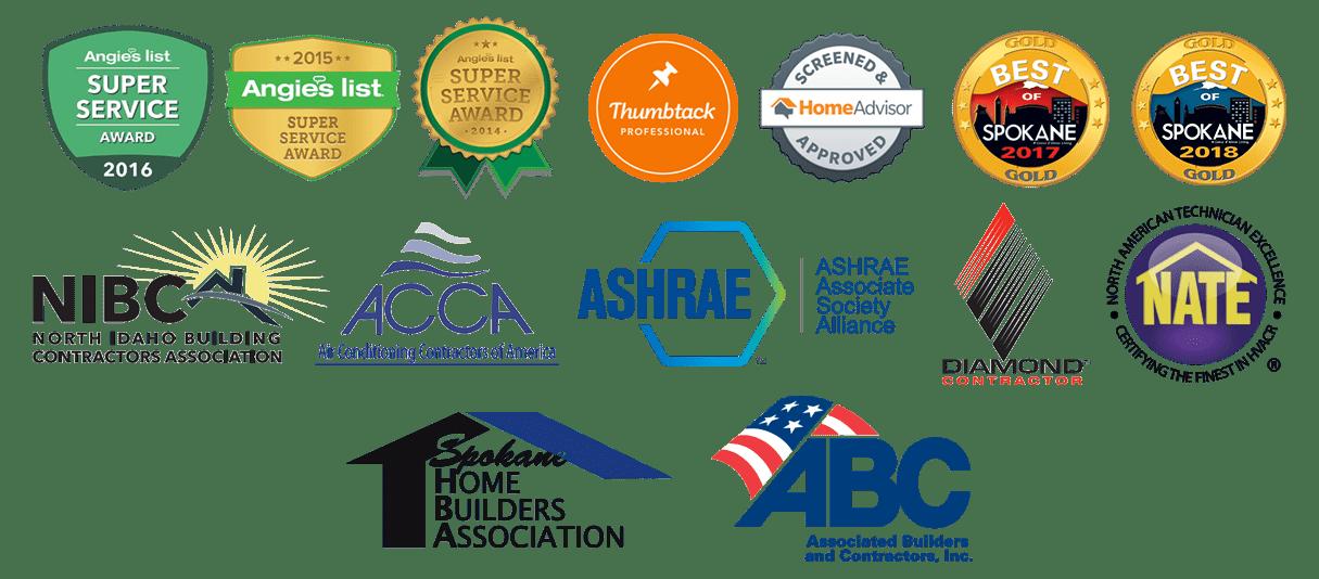 R&R Heating Awards & Accreditations