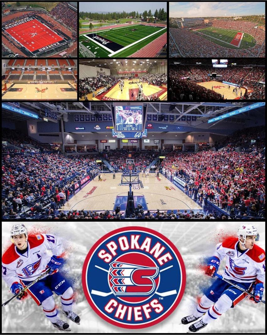 Local Universities / Sports Teams in Spokane