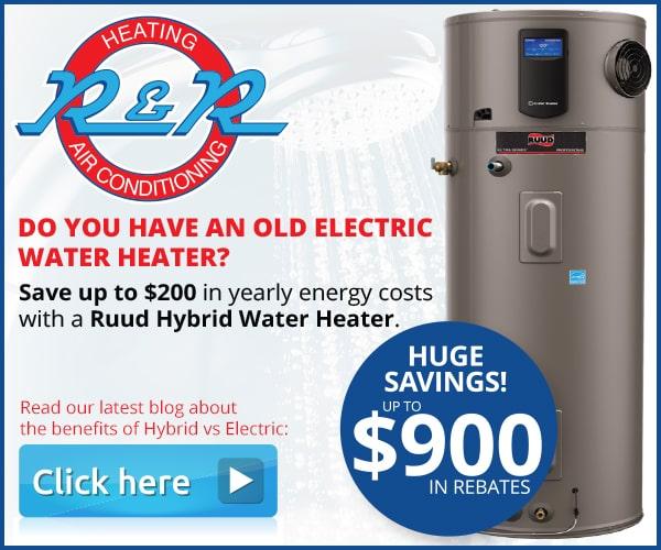 Hybrid Water Heater Rebate Offer