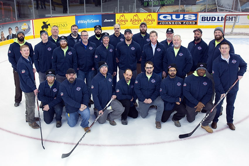 R&R Heating Commercial Employees