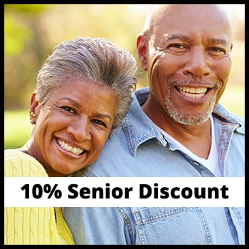 Senior Discount - 10% Off Service & Repairs